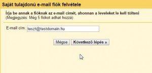 gmail pop3 beállítás - Saját e-mail fiók felvétele